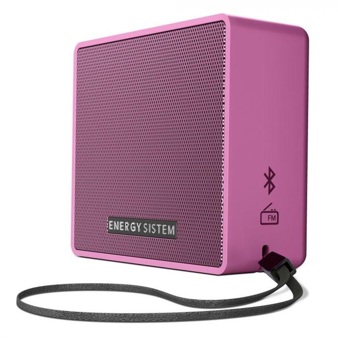 Тонколона Energy Music Box 1+, 1.0, Bluetooth до 6 часа време за работа, розова image