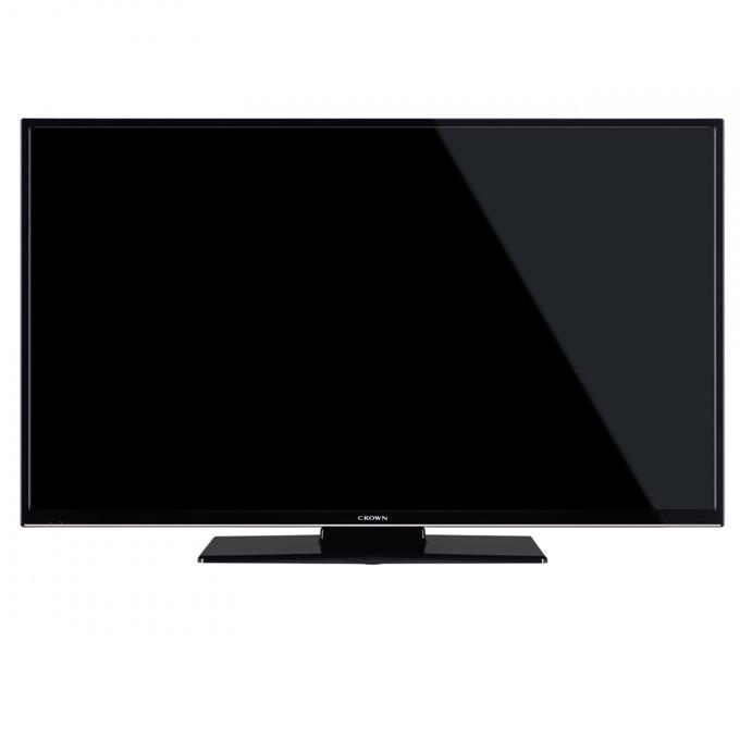 "Телевизор Crown 32472, 32""(81.28 cm), HD Ready, DVB-T/C/MPEG4, USB, SCART, VGA, HDMI image"