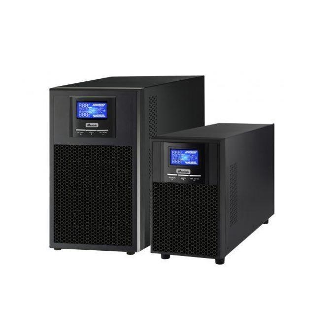 UPS Mustek PowerMust 3000 Sinewave, 3000VA/3000W, Online, LCD дисплей, Tower image