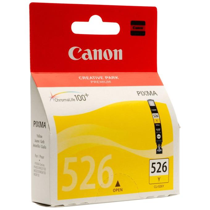ГЛАВА CANON PIXMA iP 4850/MG5150/5250/6150/8150 - Yellow ink tank - P№ 4543B001 /CLI-526Y - заб.: 9ml. image