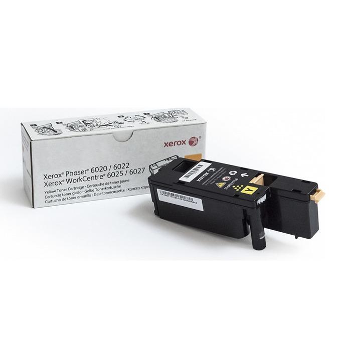 КАСЕТА ЗА XEROX Phaser 6020/6022/WC6025/6027 - Yellow - P№ 106R02762 - Заб.: 1000k image