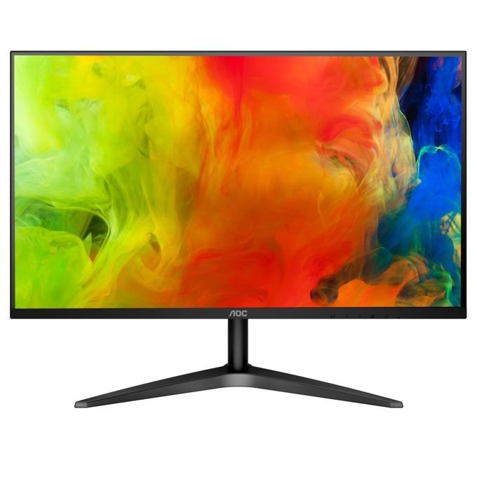 """Монитор AOC 24B1XH (24B1XHS), 23.8"""" (60.47 cm) IPS панел, Full HD, 7ms, 20000000:1, 250 cd/m2, HDMI, VGA image"""