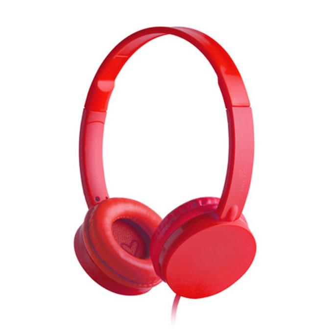 Слушалки Energy Colors, червени image