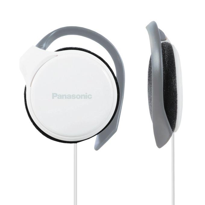 Слушалки Panasonic RP-HS46E, спортни, бели image