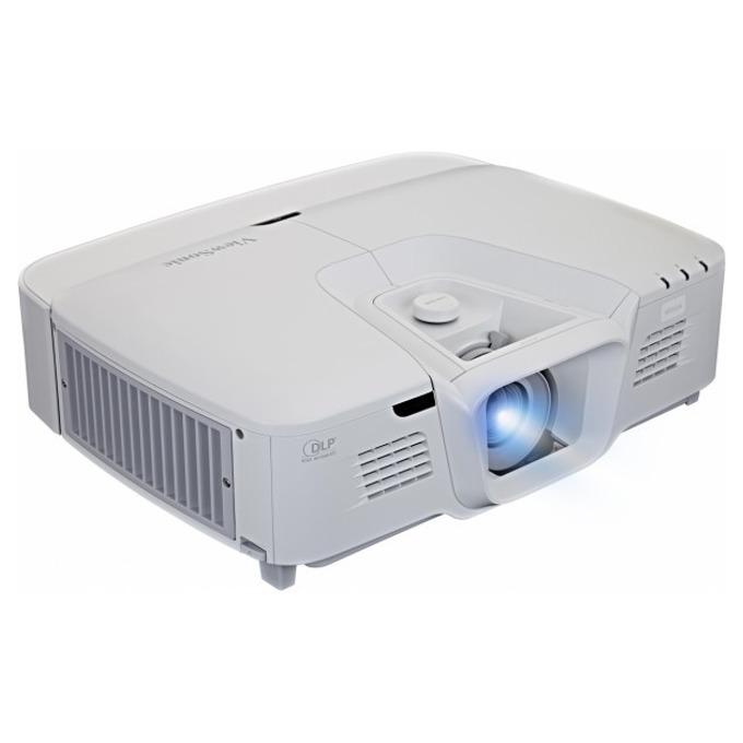 Проектор ViewSonic Pro8520WL, DLP, WXGA (1280x800), 5000:1, 5200 lm, VGA, HDMI, RS232, S-Video, RCA, USB, HDBaseT, LAN, бял image