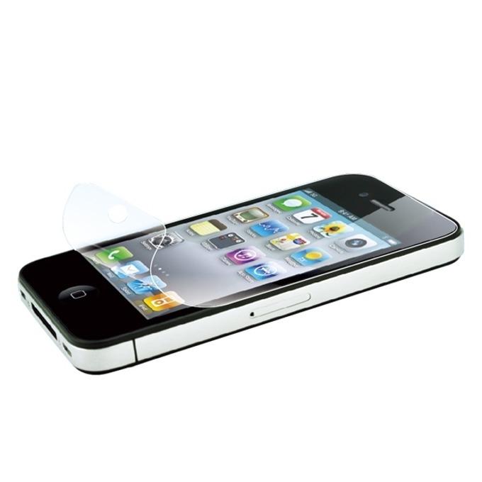 Протектор от закалено стъкло/Tempered Glass/, LogiLink AA0008, за iPhone 4, черен image