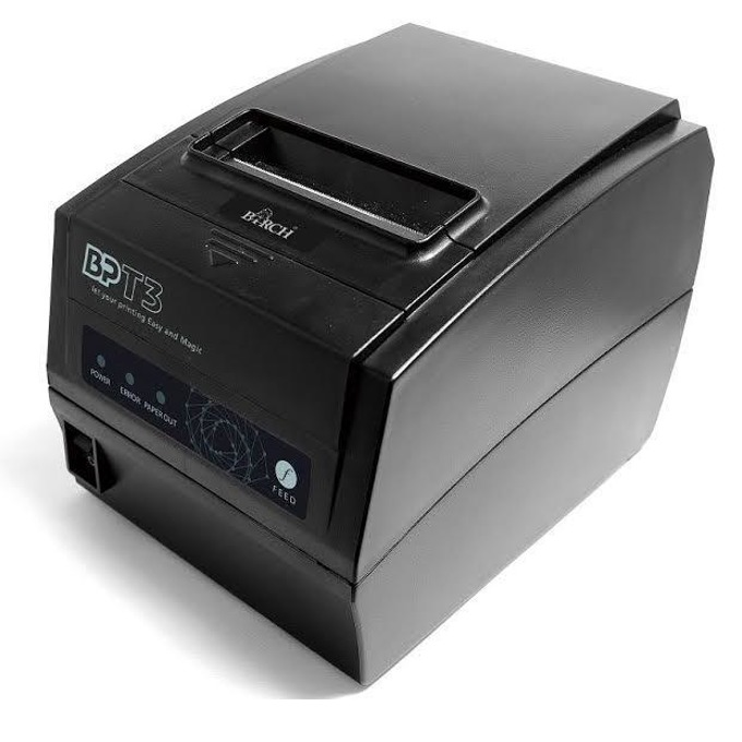 Термален принтер BIRCH BP-T3HB, 203 dpi, 1MB памет, USB, RS232, LAN, 300mm/sec скорост на печат, 80mm максимална ширина хартята, черен image