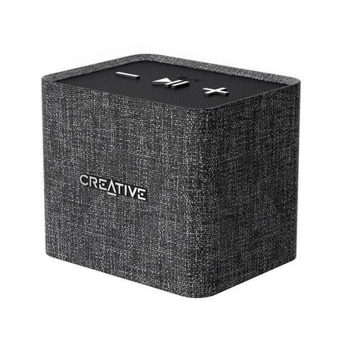 Тонколона Creative Speaker Nuno Micro, 1.0, Bluetooth 2.1, 3.5mm жак, до 4 часа време за работа, черен  image