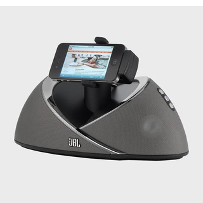 Тонколона JBL On Beat Air, 2.0, 15W RMS, безжична, Apple dock/Wi-fi/3.5mm jack/USB, черна, дистанционно image