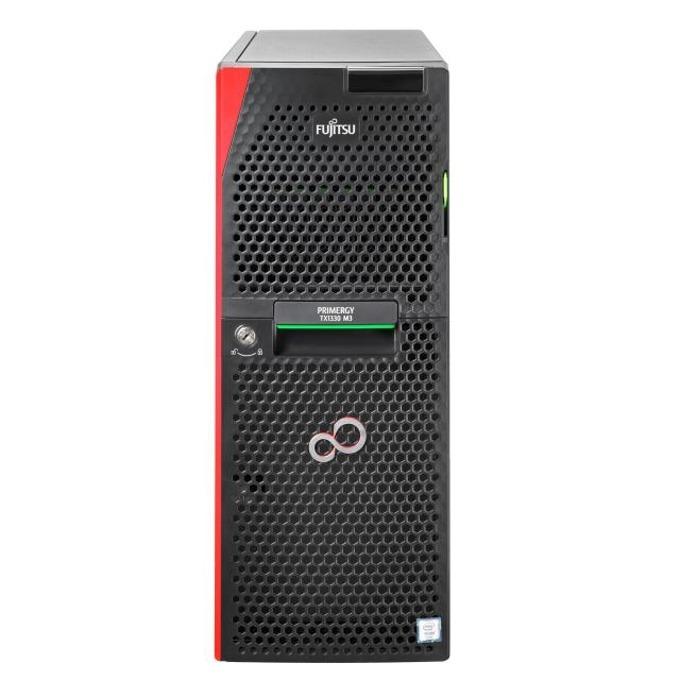 Сървър Fujitsu Primergy TX1310 (T1313SC010IN), четириядрен Haswell Intel Xeon E3-1225 v3 3.2/3.6 GHz, 8GB DDR4, 2x 1TB HDD's, 5x USB 3.0, Free DOS, 250W image