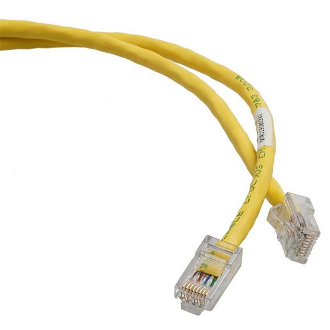 Пач кабел UTP 2m NetKey Cat 5E жълт RoHS complaint image