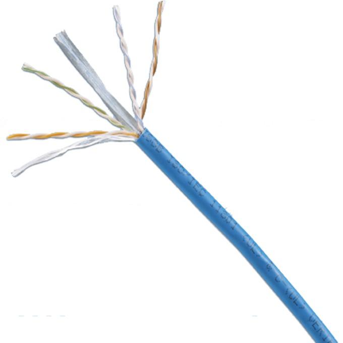 Кабел UTP, 1m, Panduit TX6000™ 24 AWG PVC с разделител, Cat 6 image