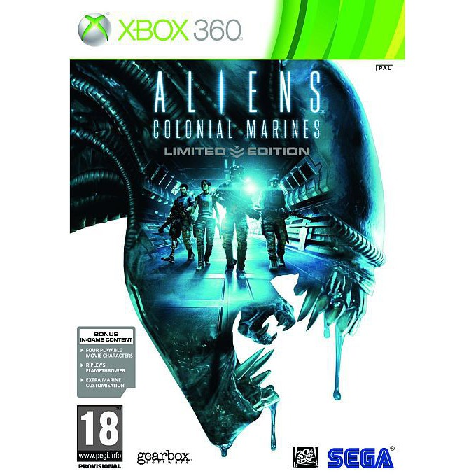 Игра за конзола Aliens: Colonial Marines Limited Edition, за XBOX360 image