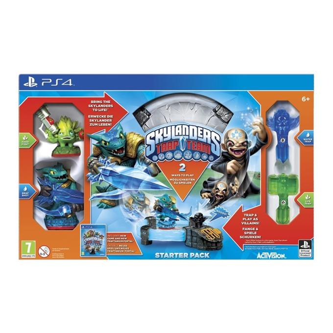 Игра за конзола Skylanders Trap Team Starter Pack, за PlayStation 4  image