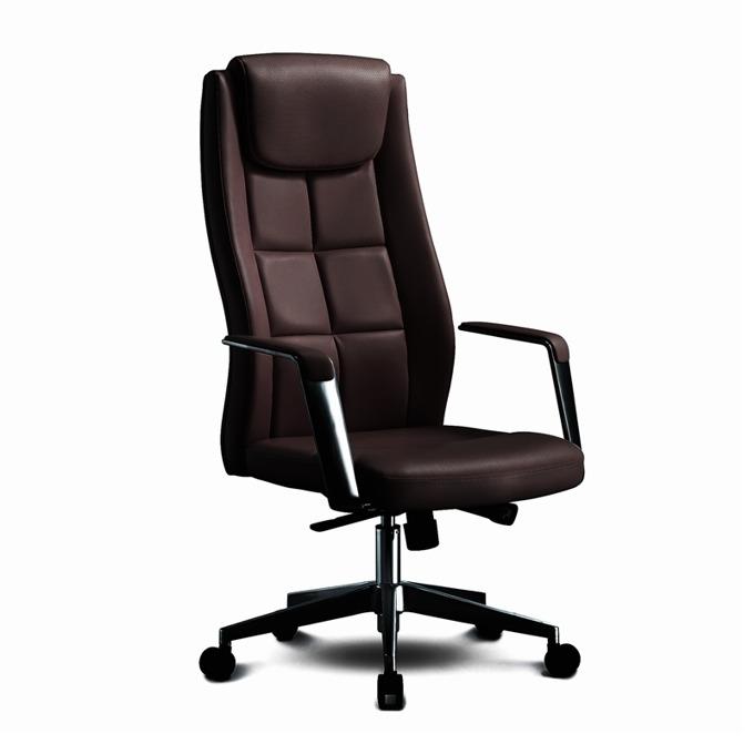 Директорски стол RFG BOGART HB, екокожа, кафяв image