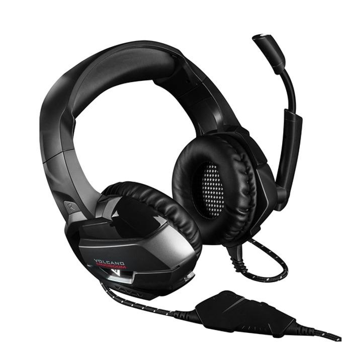 Слушалки Modecom Volcano MC-859 Bow, микрофон, гейминг, черни image