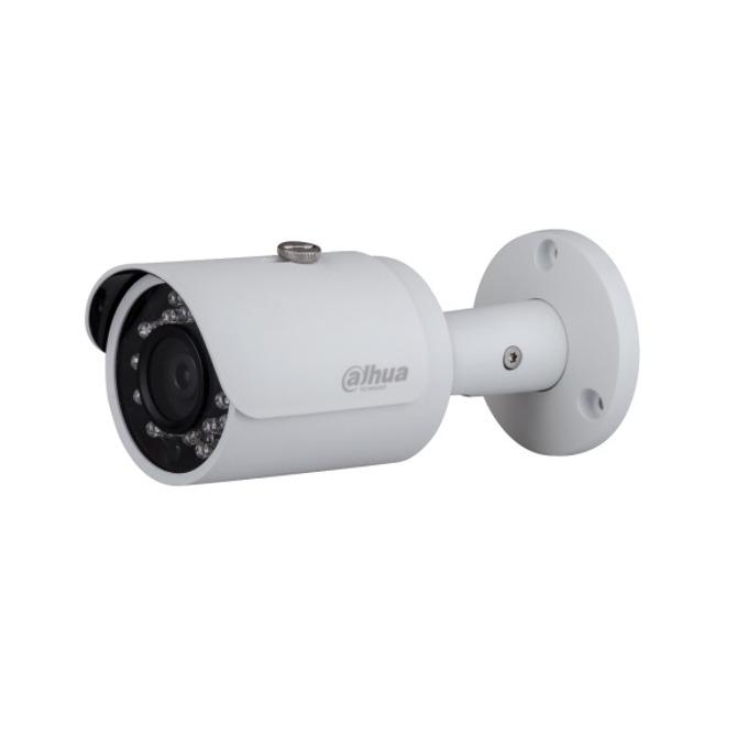 "IP камера Dahua IPC-HFW1220SP-0360B-S3, насочена ""bullet"", 2 Mpix(1920x1080@25FPS), 3.6mm обектив, H.264/H.264H/H.264B/MJPEG, IR осветеност (до 30 метра), външна IP67, PoE, 1x 10/100Base-T Ethernet port image"
