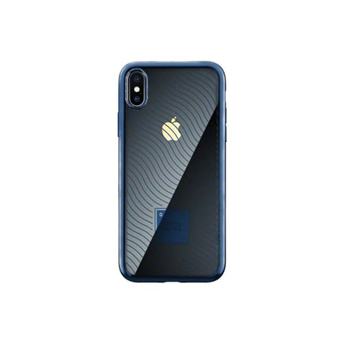 Калъф за Apple iPhone XS Max, термополиуретанов, Remax Proda Mouss, син image