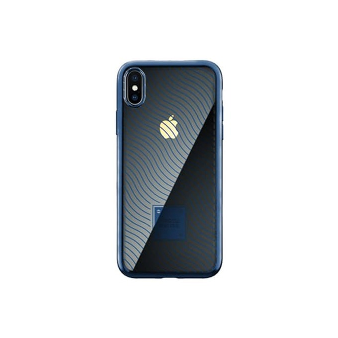 Калъф за Apple iPhone XS Max, термополиуретанов, Remax Proda Mouss, син image