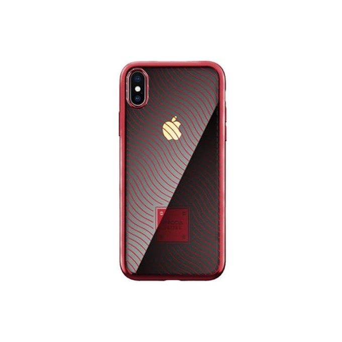 Калъф за Apple iPhone XS Max, термополиуретанов, Remax Proda Mouss, червен image