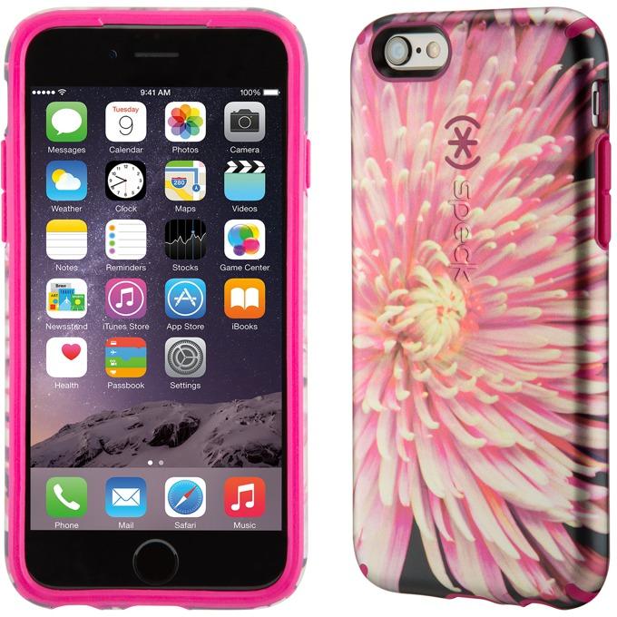 Страничен протектор с гръб Speck Inked Luxury Edition за iPhone 6S Plus, лилав/розов image