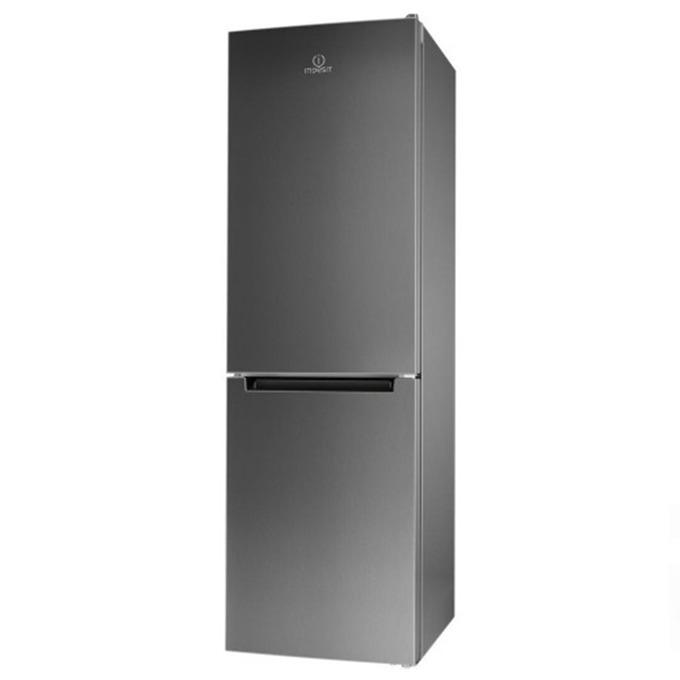 Хладилник с фризер Indesit LI9 S1Q X, клас A+, 369 л. общ обем, свободностоящ, 305 kWh/годишно, инокс image