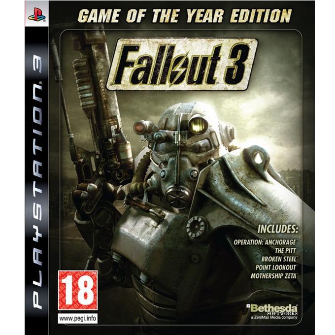 Игра за конзола Fallout 3 GOTY, за PS3 image
