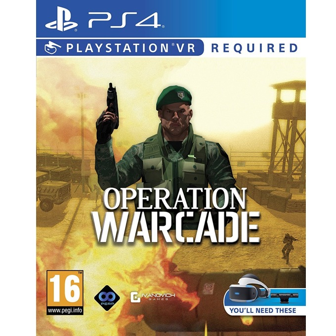 Operation Warcade VR, за PS4 image