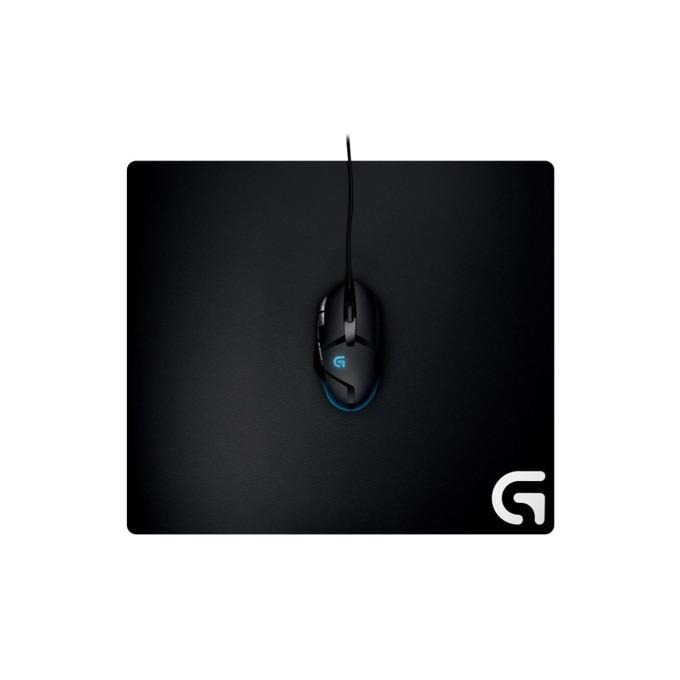 Подложка за мишка Logitech G640, гейминг, 400 x 460 x 3 мм, черна image