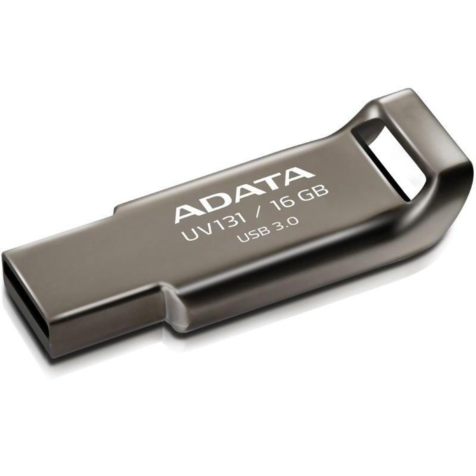 16GB USB Flash Drive, A-Data DashDrive UV131, USB 3.0, сива image