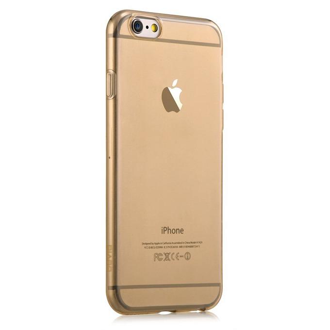 Силиконов протектор Devia за Apple iPhone 6 и iPhone 6S, златист image