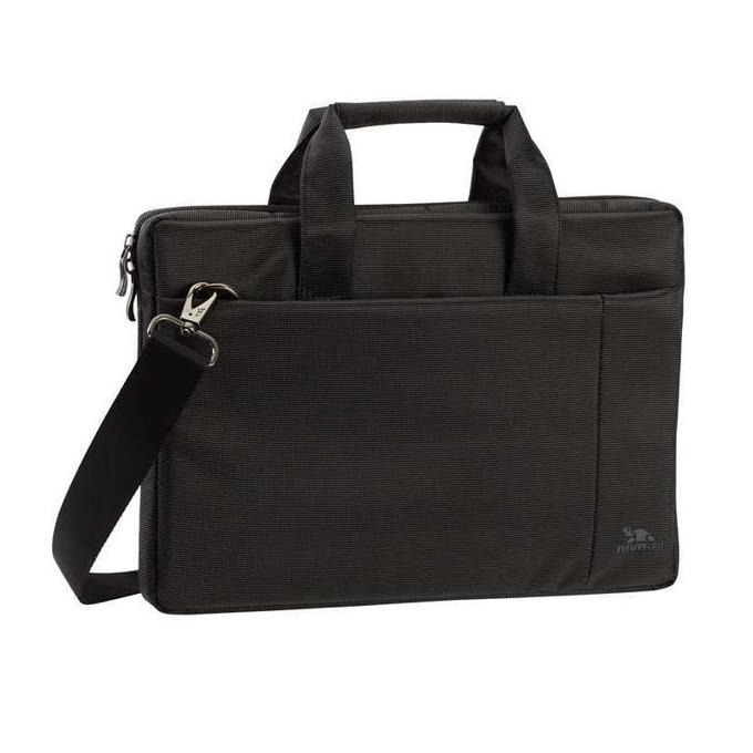 """Чанта за лаптоп Rivacase 8221 до 13.3"""" (33.78 cm), полиестер, черна image"""