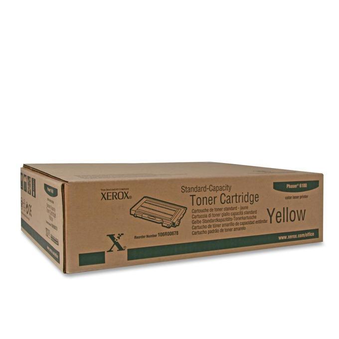 КАСЕТА ЗА XEROX Phaser 6100 - Yellow - P№ 106R00678 - заб.: 2000k image