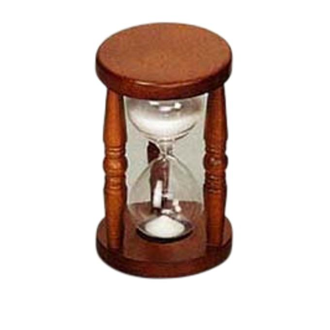 Часовник Sea Power TM011, пясъчен, за 30 минути, дървен корпус, кафяв image