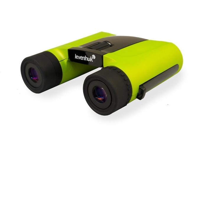 Бинокъл Levenhuk Rainbow 8x25 Lime (Лайм), 8x оптично увеличение, 25mm диаметър на лещата image
