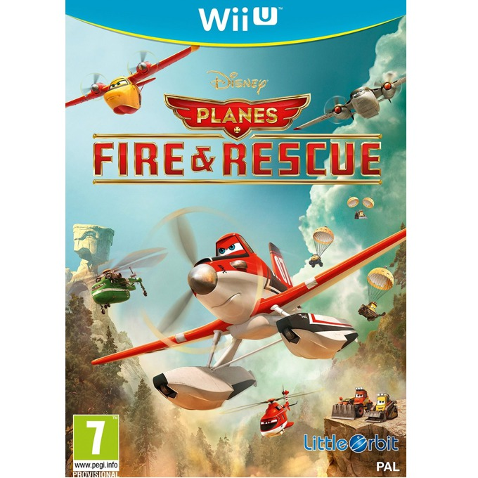 Игра за конзола Disney Planes: Fire and Rescue, за Wii U image
