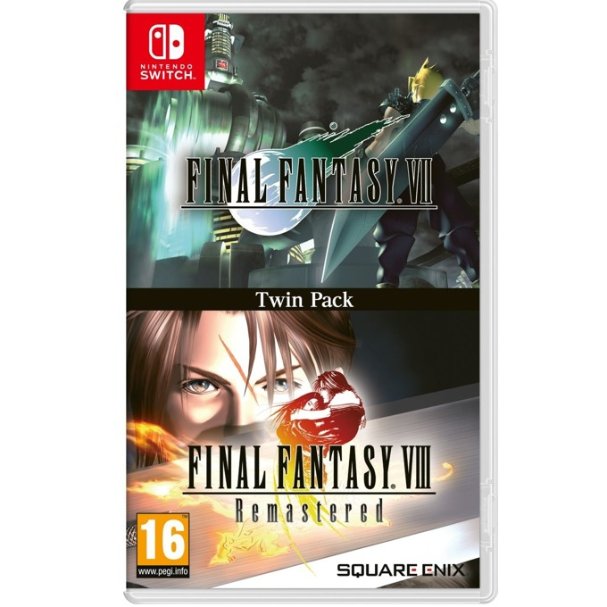 Final Fantasy VII and VIII Remastered Switch product