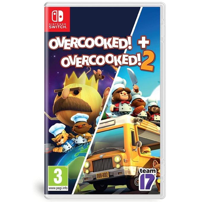 Игра за конзола Οvercooked! + Overcooked! 2 - Double Pack, за Nintendo Switch image