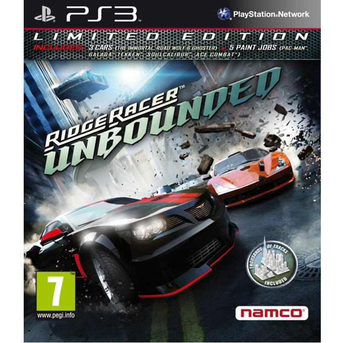 Игра за конзола Ridge Racer Unbounded: Limited Edition, за PlayStation 3 image