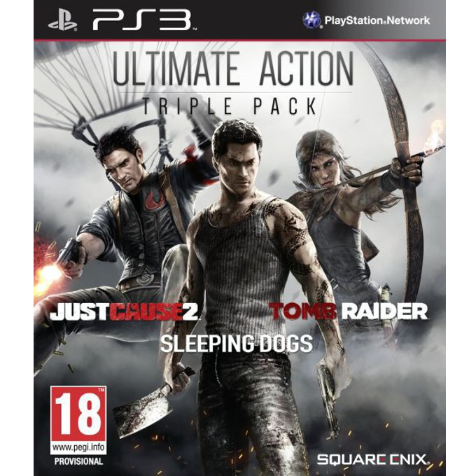 Игра за конзола Ultimate Action Triple Pack, за PlayStation 3 image