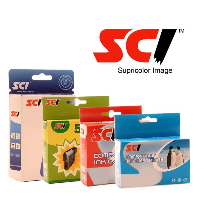 Мастило за HP DesignJet 500/800 - Yellow - SCI - Неоригинална image