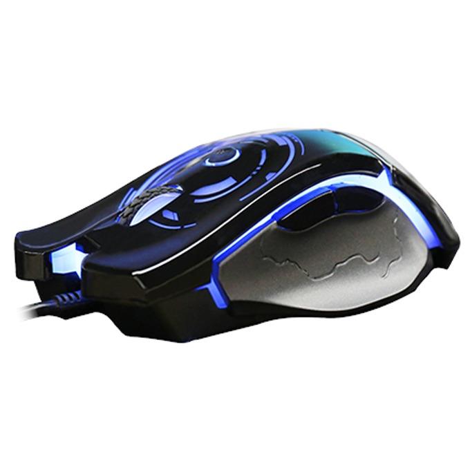 Мишка AULA SI-9005 Catastrophe, оптична(5000 dpi), USB, черна, подсветка, гейминг image