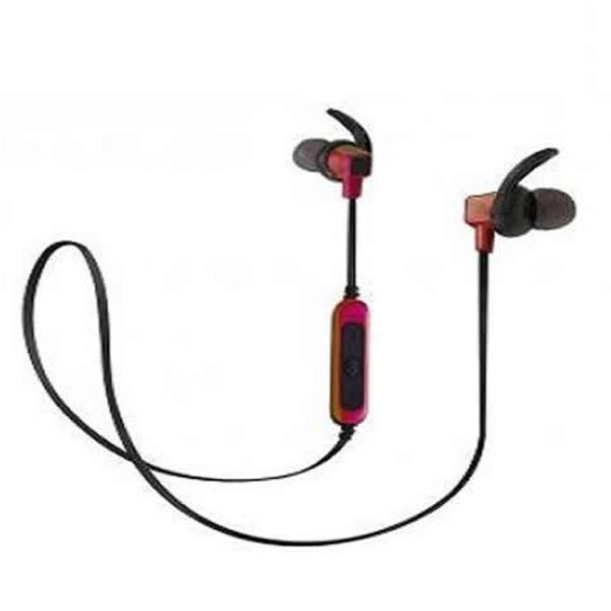 Слушалки Royal BSD-A3, безжични, Bluetooth, микрофон, до 4 часа време за работа, черно-червени image
