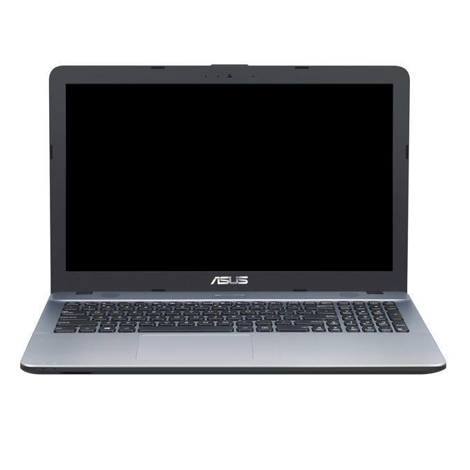 "Лаптоп Asus VivoBook Max X541NA-GO123 (сребрист), двуядрен Apollo Lake Celeron N3350 1.1/2.4GHz, 15.6"" (39.62 cm) HD LED дисплей (HDMI), 4GB DDR3L, 500GB HDD, 1x USB Type C Gen1, 1x USB 3.0 Type C, No OS, 1.84kg image"