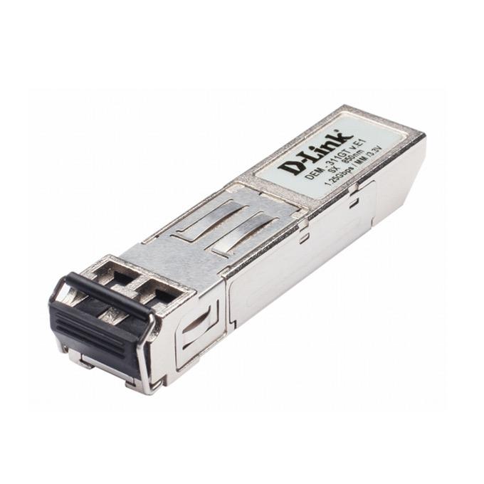 D-Link DEM-311GT, 1-Port Mini-GBIC, 10/100/1000BaseSX Transceiver image