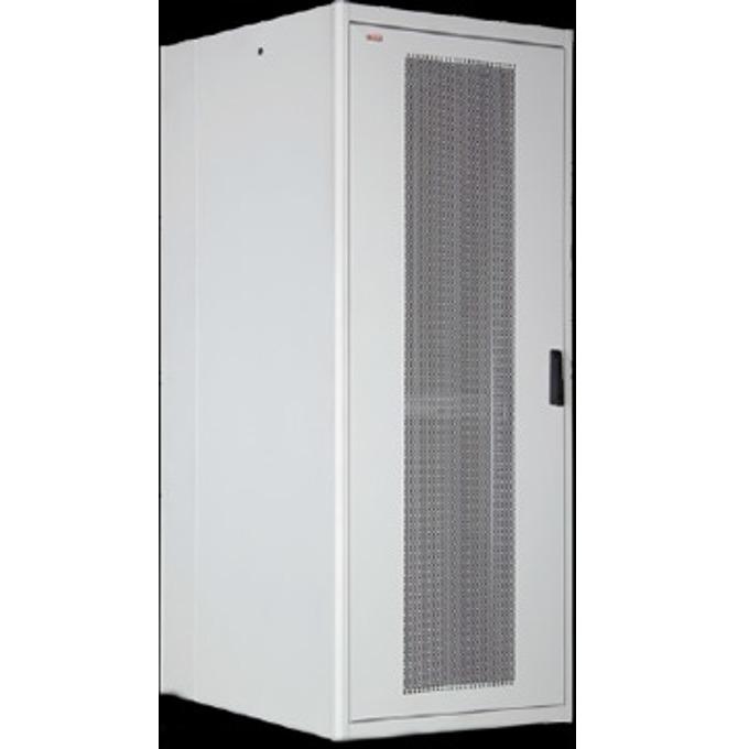 """Комуникационен шкаф Lande LN-FS26U8010-BL-251, 19"""", 42U, 800 x 1000 мм, сив image"""