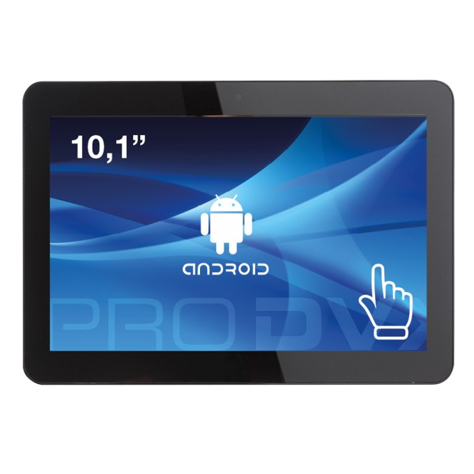 """All in One компютър ProDVX APPC-10DSKP, четириядрен Cortex A17 1.6 GHz, 10.1"""" (25.65 cm) WXGA LED Capacitive Multi Touch Display & MALI T764, 2GB DDR3, 8GB Flash ROM, USB 2.0, Android 6.0 image"""
