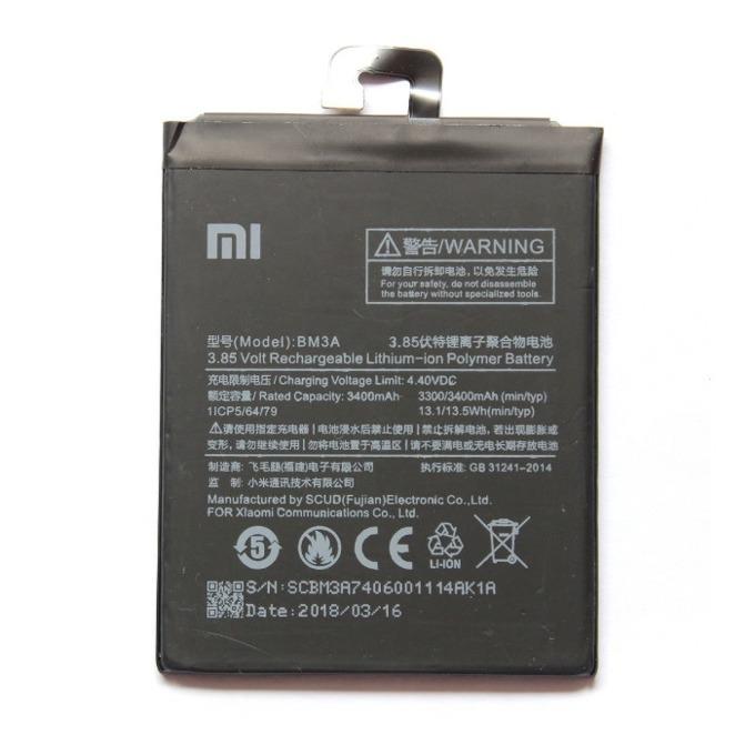 Батерия (оригинална) Xiaomi BM3A за XiaoMi Mi Note 3, 3500mAh/4.4V, bulk image