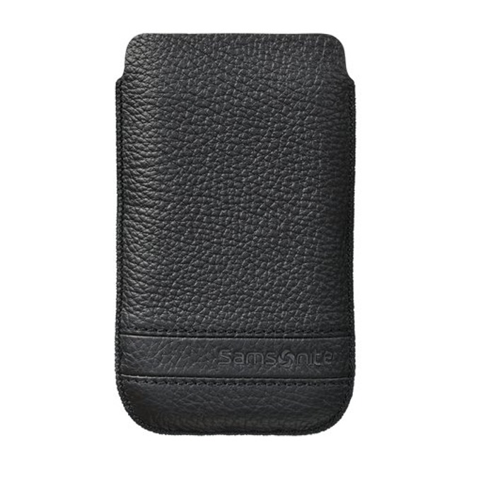Калъф тип джоб Samsonite SLIM CLASSIC M, кожен, черен image