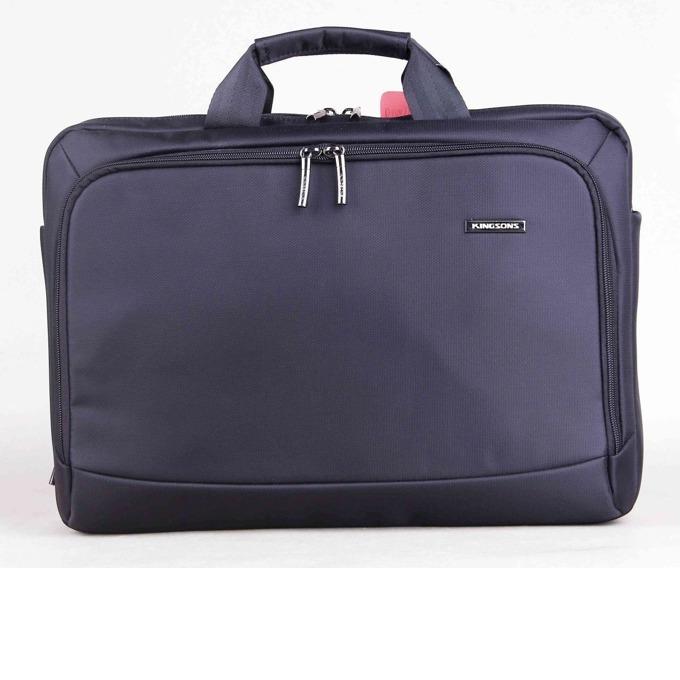 "Чанта за лаптоп Kingsons Prime Series KS3117W до 15.6"" (39.62 cm), водоустойчева, черна  image"
